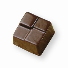 art12899 Chocolate Mold Tile Square