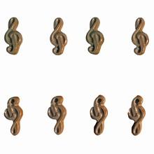 M12 Treble clef mold