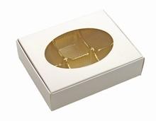 cc025 Boîte 1/4lb blanche