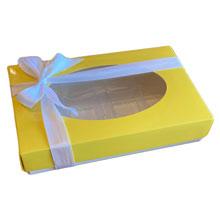 CC101-17 Rect. 1/2lb Yellow box