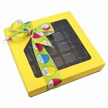 CC104-20 Boîte 1lb carrée Jaune