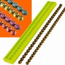 Moule en silicone collier de perles