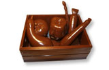 art14954 3D Vegetables chocolate mold