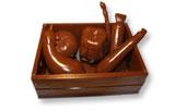 art14954 Moule chocolat légumes 3D
