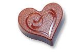 art15297 Heart chocolate mold