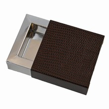 e19147s Espresso and Silver Sleevebox for 1 chocolate