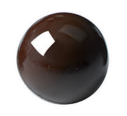 B227 MLD090403 chocolate mold half sphere