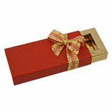 E39252g Étui pour 3 chocolats Capsicum