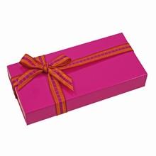 E3225g Glossy Fuschia sleevebox for 3 chocolates