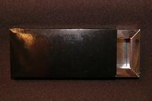 E318s Étui pour 3 chocolats noir brillant