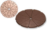 art15654 Mayan calendar chocolate mold