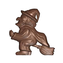 art15366 Witch chocolate mold