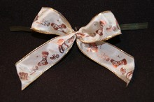 bow104 bows ivory/copper