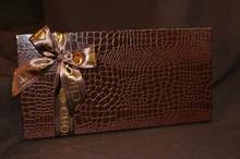 Rigid 50ct croco illusion box