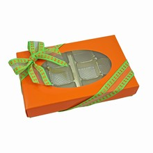 CC1001-2 Boîte 1/2lb rect orange