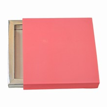 E9189s Light Pink Sleevebox for 9 choc or 3 bars