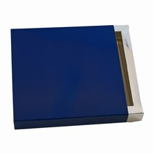 E9541s Navy blue sleevebox for 9 choc or 3 bars