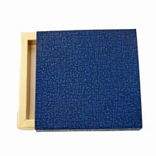 E99509g Étui Illusion Cuir Perla Minuit 3 tablettes ou 9 chocolats