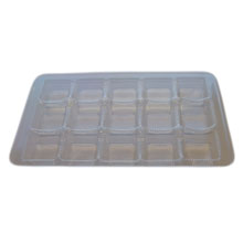 mp16 Clear 15pc plastic tray