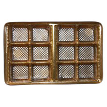 mp1868 Gold 12pc plastic trays
