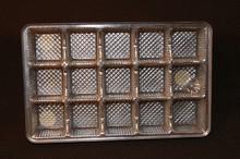 mp15s Silver 15pc plastic tray