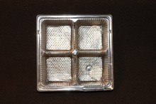 mp4s Silver 4pc plastic tray