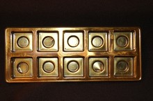 10ctsg Gold 10ct plastic tray
