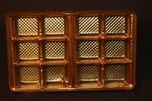 mp1868c Cuivre 12pc plastic trays