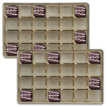 mp1882 Gold 24pc plastic tray