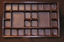 mp1910 Brown 26ct plastic tray