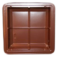mp2811 Brown plastic tray PETG