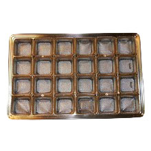mp2740 Gold 24ct plastic tray