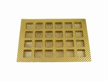 24ctsg Square Gold 24ct Plastic Tray