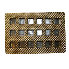 18ctsg Square gold 18ct plastic tray