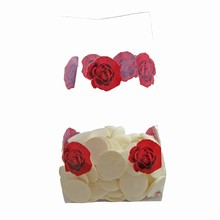 Sac cello St-Valentin avec roses rouges