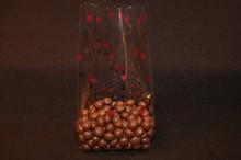 Valentine's Cello Bag w/Small Red Hearts