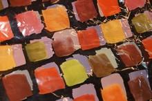 Sachet aquarelle automne