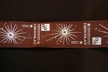Ruban % chocolat