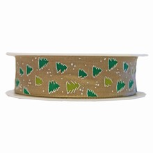 r225 Fir tree motif ribbon