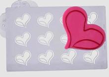 20-C016 Moule chocolat déco coeur