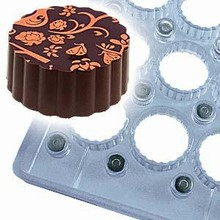 pdr9004 Chocolate mold magnetized