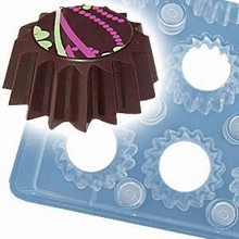 pdr9007 Chocolate mold magnetized