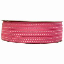 gg8 Grosgrain fuschia ribbon
