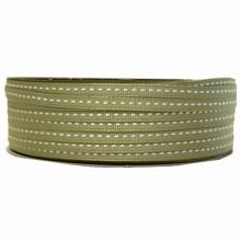 gg16 Grosgrain medium green ribbon