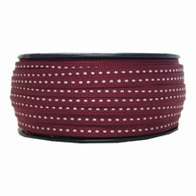 gg19 Grosgrain burgundy ribbon