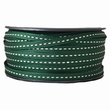 gg20 Grosgrain dark green ribbon