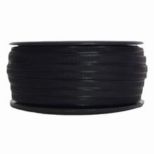 mr8 Black narrow satin ribbon