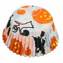 Halloween print candy cups
