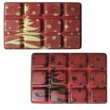 Plaque thermoformée tablette Noël