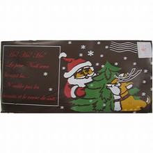 Feuille de tranfert Carte Postale Père Noël